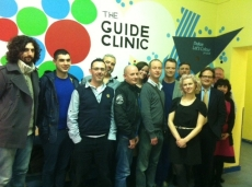 ami team visiting the guide clinic